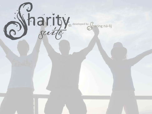 Sharity Suite fundraising donor software.